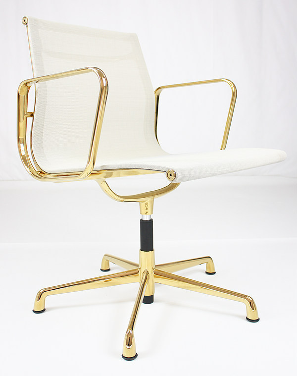 office chair gold pads clover furniture executive colors buy