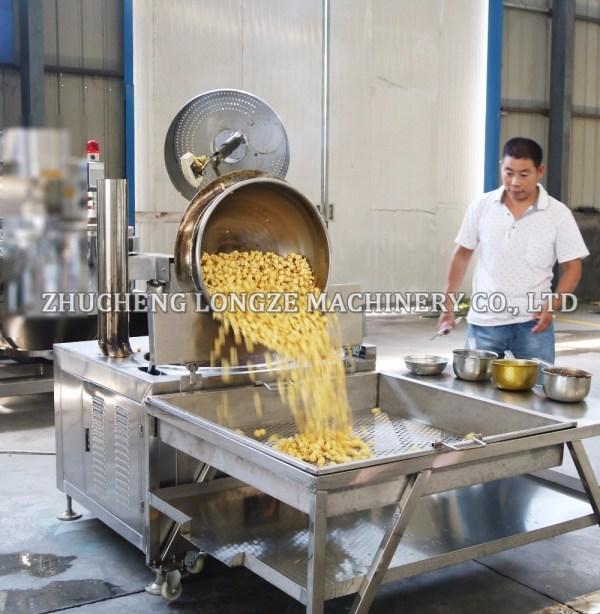 Commercial Automatic Caramel Kettle Corn Machine
