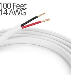 braided car audio subwoofer tinsel lead wire 3500 watts 081 dia 5 feet springfield speaker [ 1500 x 1500 Pixel ]