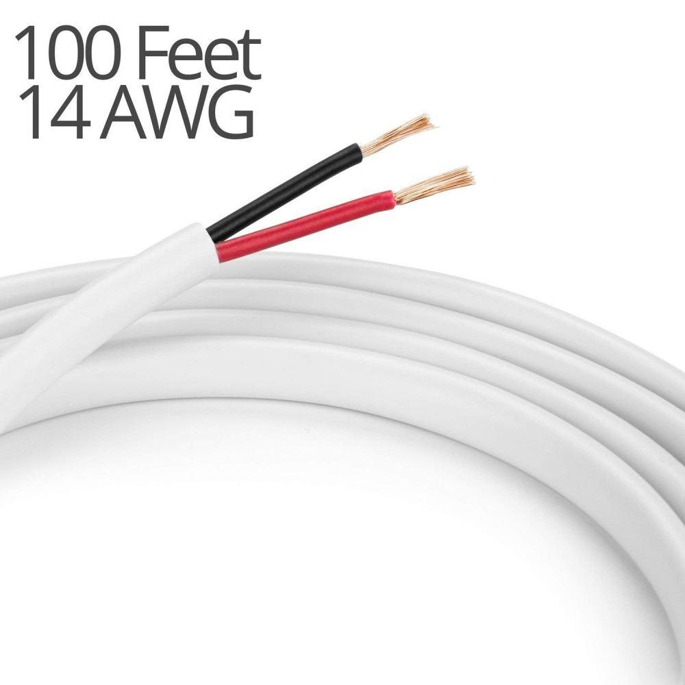 medium resolution of braided car audio subwoofer tinsel lead wire 3500 watts 081 dia 5 feet springfield speaker