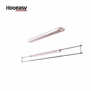 Manual Lifting Clothes Drying Rack Luxury Ceiling Mount