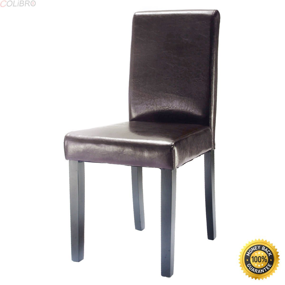 cheap chairs for sale bedroom chair yellow acrylic dining find get quotations colibrox set of 4 elegant design leather contemporary home room