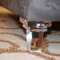 Custom Modern Clear Lucite Sofa Legs Acrylic Furniture ...