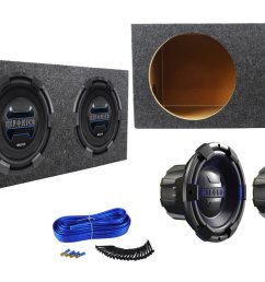 package 2 hifonics brx12d4 brutus 12 dual 4 ohm 900 watts peak 450 watts rms car subwoofer rockville rd12 dual 12 1 25 cu ft sealed subwoofer  [ 1500 x 882 Pixel ]