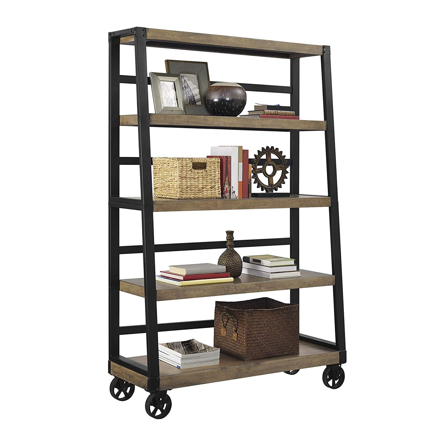 Cheap Modern Rustic Bookcase Find Modern Rustic Bookcase