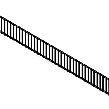 Chrome Plated Wire Riser For Tegometall And Eden Shelf