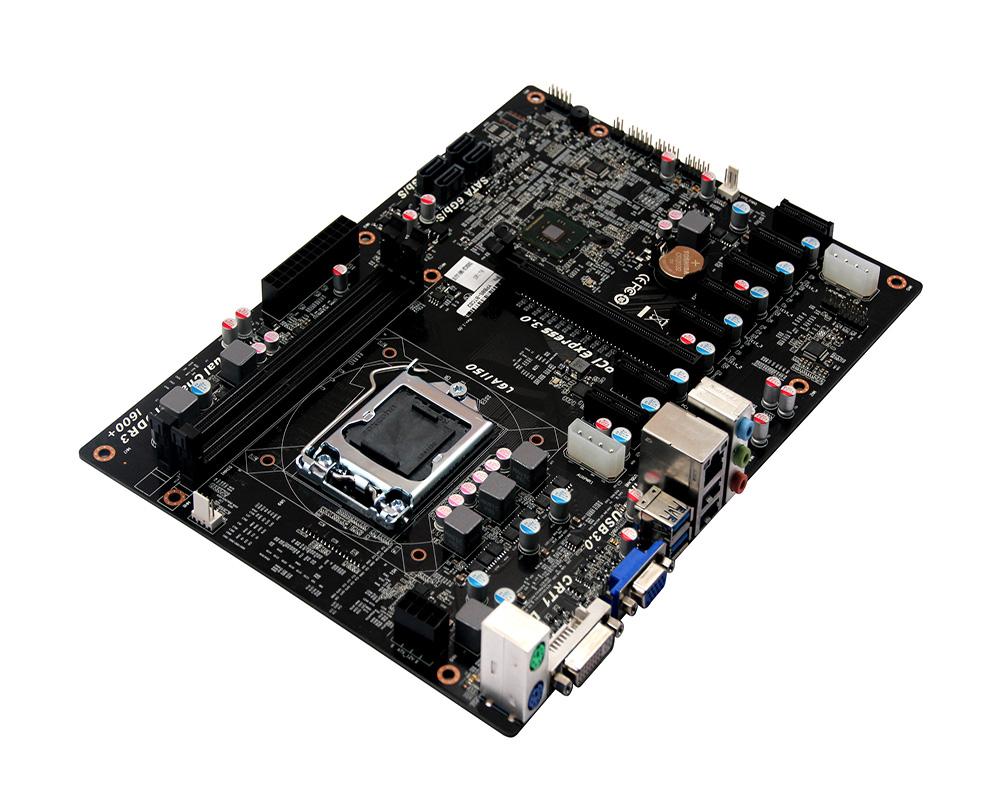 medium resolution of b85 btc lga1150 socket intel 4th i3 i5 i7 pentium celeron cpu industrial mining motherboard