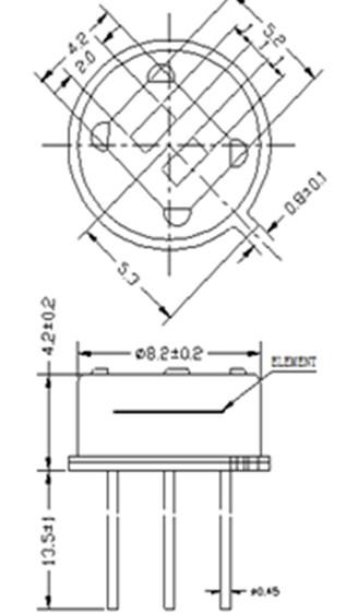 pir sensor circuit digital pir sensor am312 /AM412/AM612