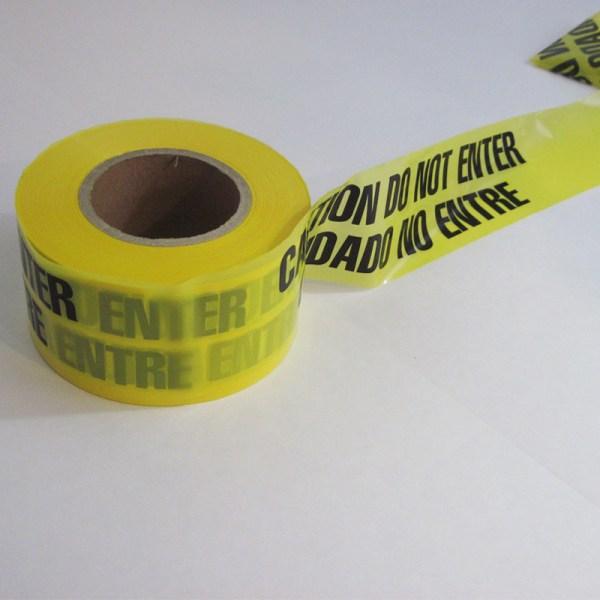Hot Yellow Black Caution Tape Cheap Warning - Tap