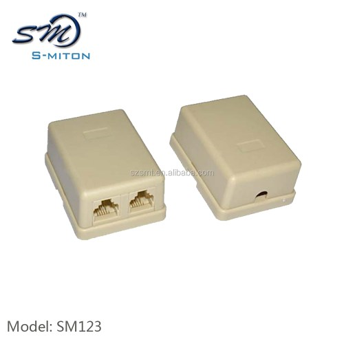 small resolution of 2 ports telephone cable junction box terminal box