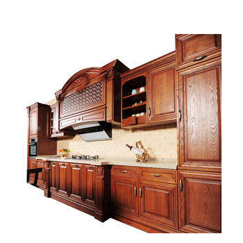 solid wood kitchen sets pantry cabinets for wholesale manufacture modular wooden