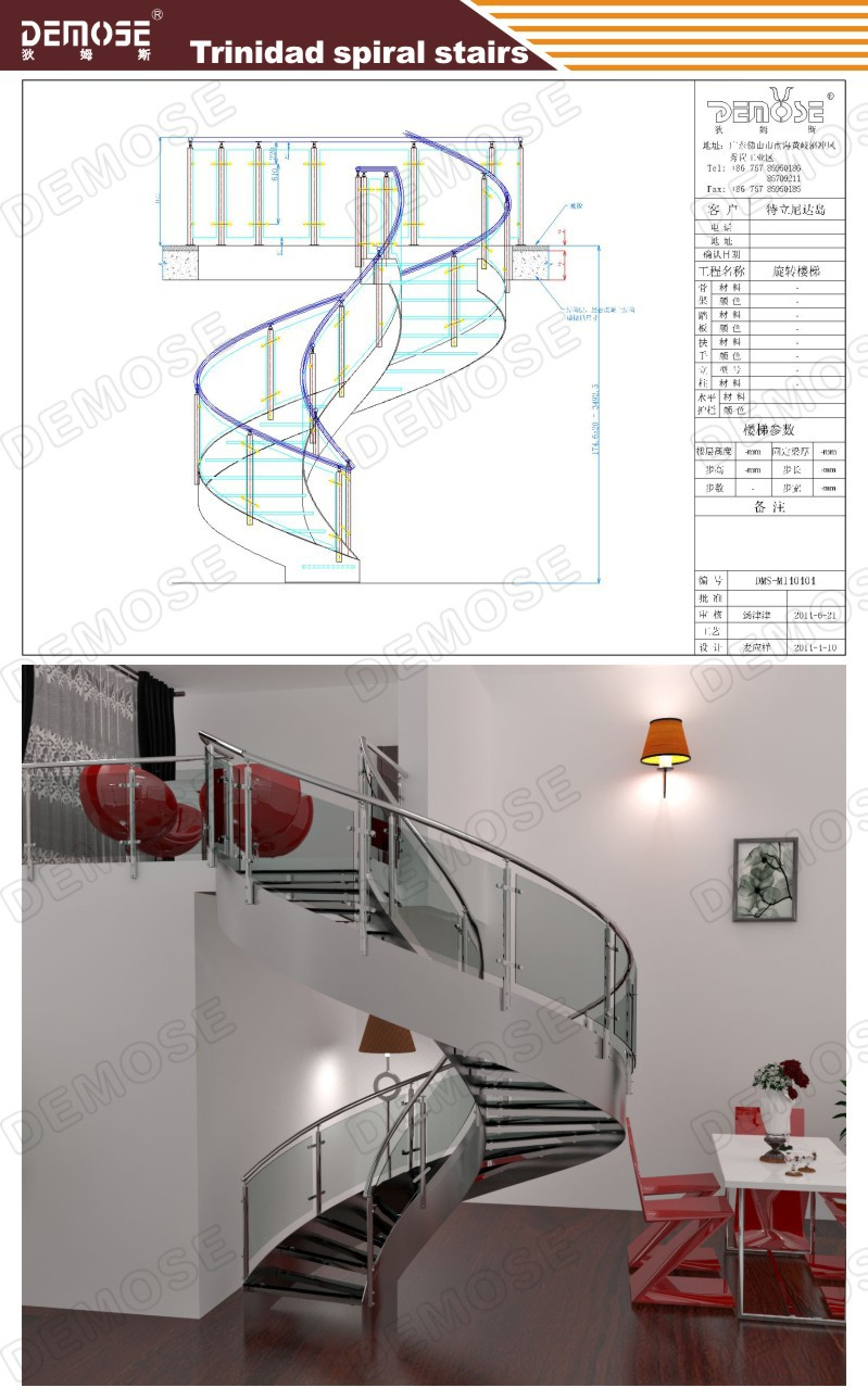 hight resolution of indoor modern wood stairs design spiral stairs used wrought iron stair railing dms 1011