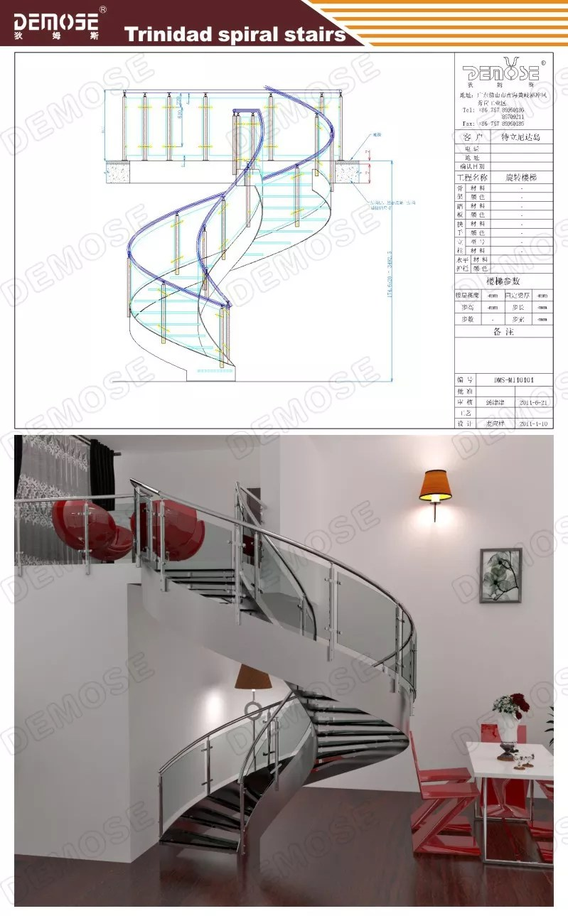 medium resolution of indoor modern wood stairs design spiral stairs used wrought iron stair railing dms 1011