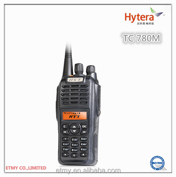 Portable Wireless Walkie Talkie Hytera Tc-780m Trunking
