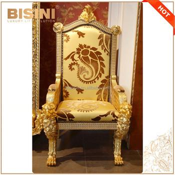 louis xv chair retro dining chairs gumtree de luxe français style salon hawk fauteuil trône/royal 24 k doré en laiton chaise ...