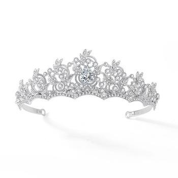 Retro Bridal Wedding Tiaras And Crowns For Women Bride