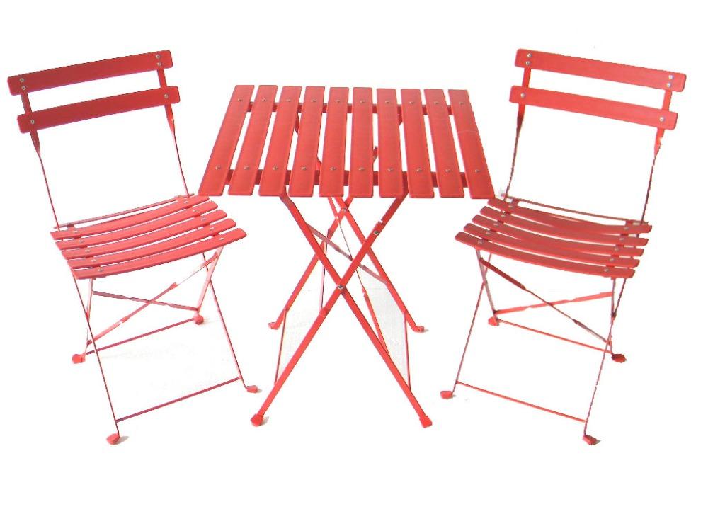Cheap Garden Patio Furniture Bistro Set Folding Chair And