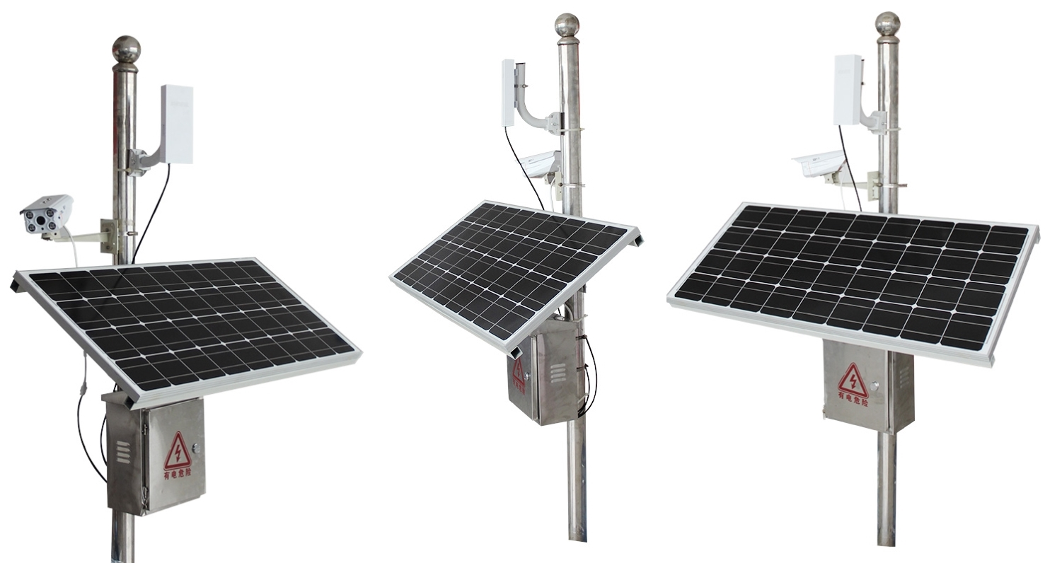Solar Power Cctv System Kits
