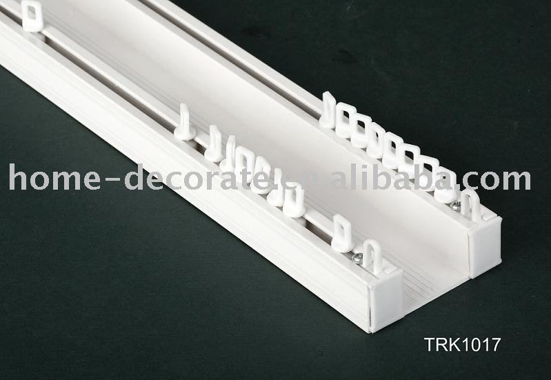 Plastic Curtain Double Track Buy Plastic Curtain Double Rail