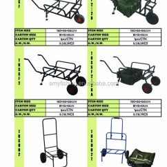 Fishing Chair Hand Wheel Hanging Wicker Without Stand New Style Carp Camping Outdoor Steel Trolley Barrow