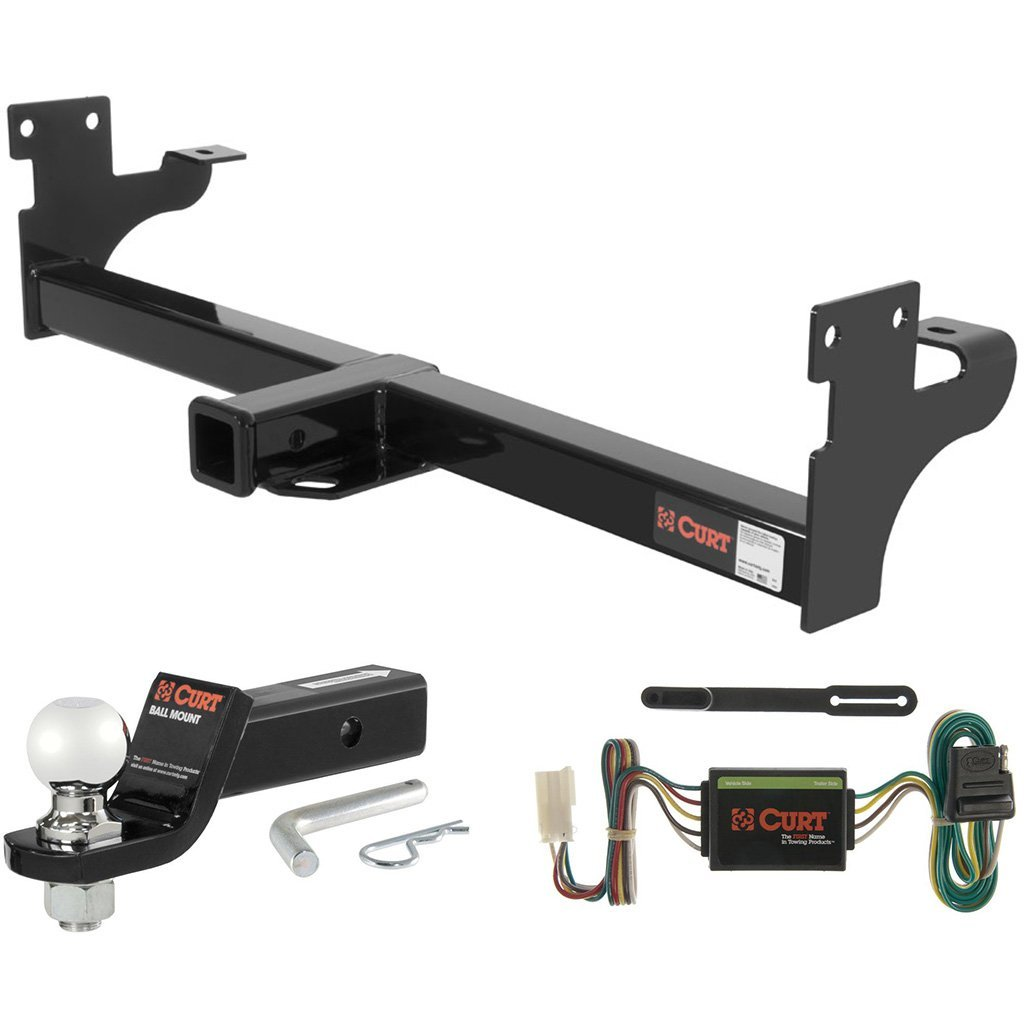 hight resolution of curt class 3 hitch tow package with 2 5 16 ball for acura
