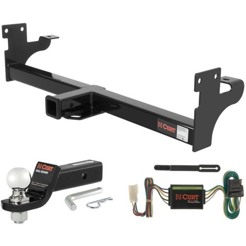 small resolution of curt class 3 hitch tow package with 2 5 16 ball for acura