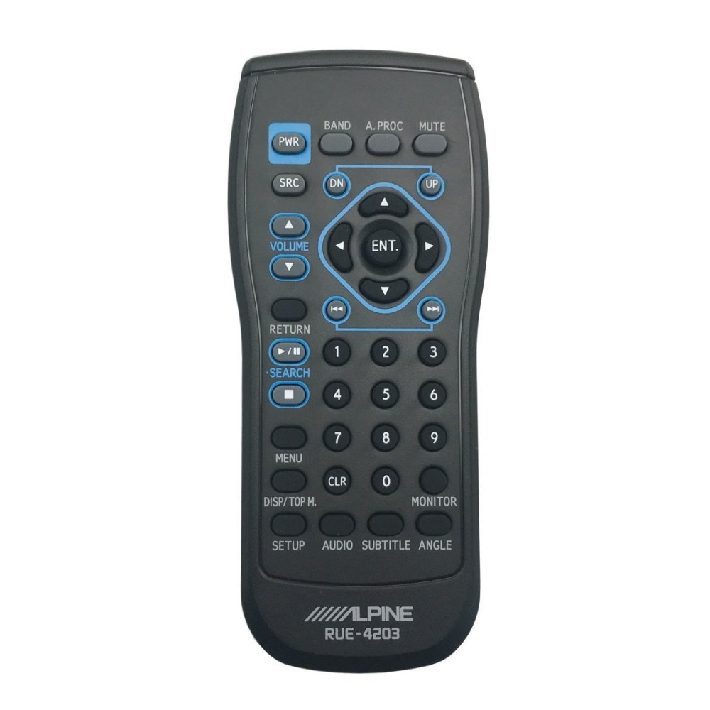 medium resolution of alpine rue 4203 remote control for iva w200 iva w203 iva d310