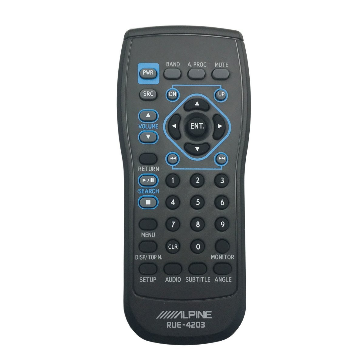 hight resolution of alpine rue 4203 remote control for iva w200 iva w203 iva d310
