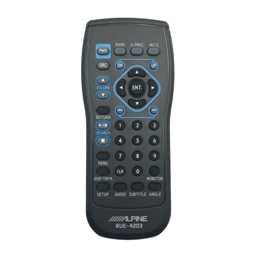 small resolution of alpine rue 4203 remote control for iva w200 iva w203 iva d310