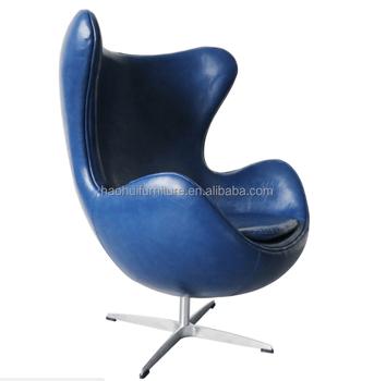 modern egg chair dining table slip covers arne jacobsen blue leisure buy