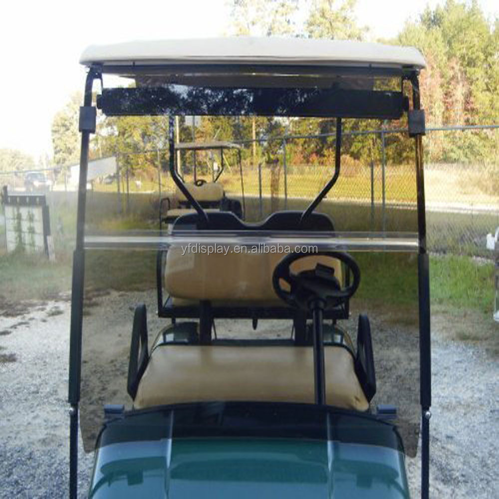 ezgo windshield 2001 chevy silverado 1500 tail light wiring diagram tinted color acrylic for txt golf cart 1995 up