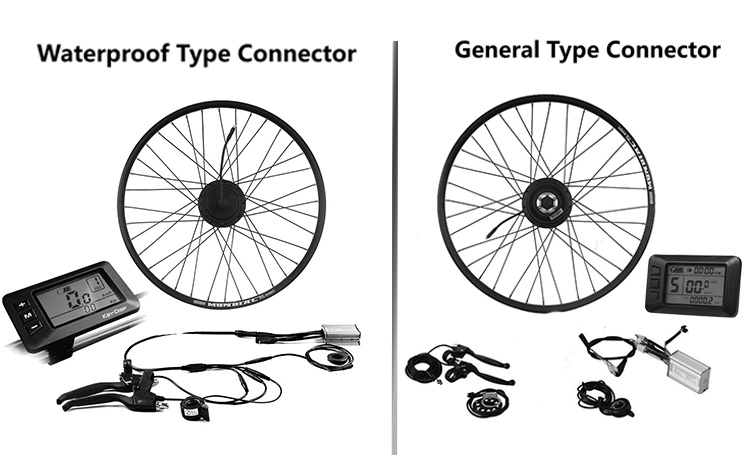 Electric Wheel Bike Kit Front Rear Motor Kit 48 Volt 350