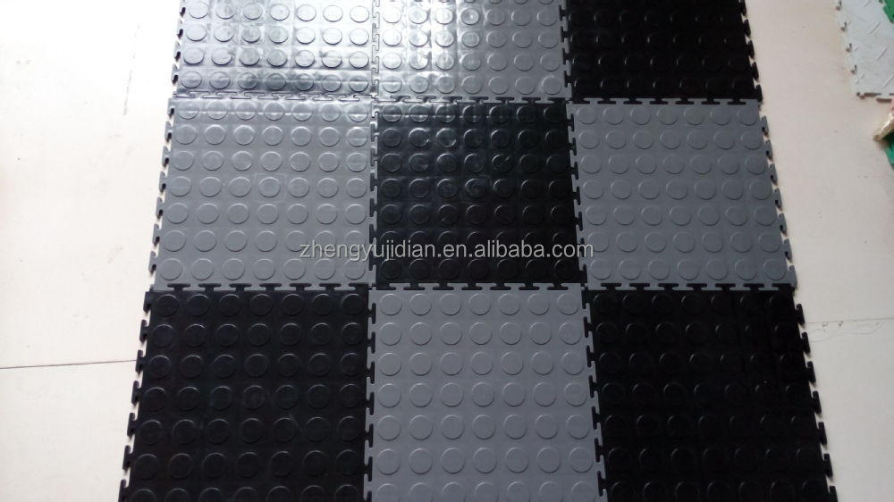 En plastique antidrapant en pvc  embotement carrelage