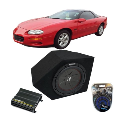 small resolution of get quotations fits 1993 2002 chevy camaro coupe passenger side 10 kicker compr cwr10 sub box