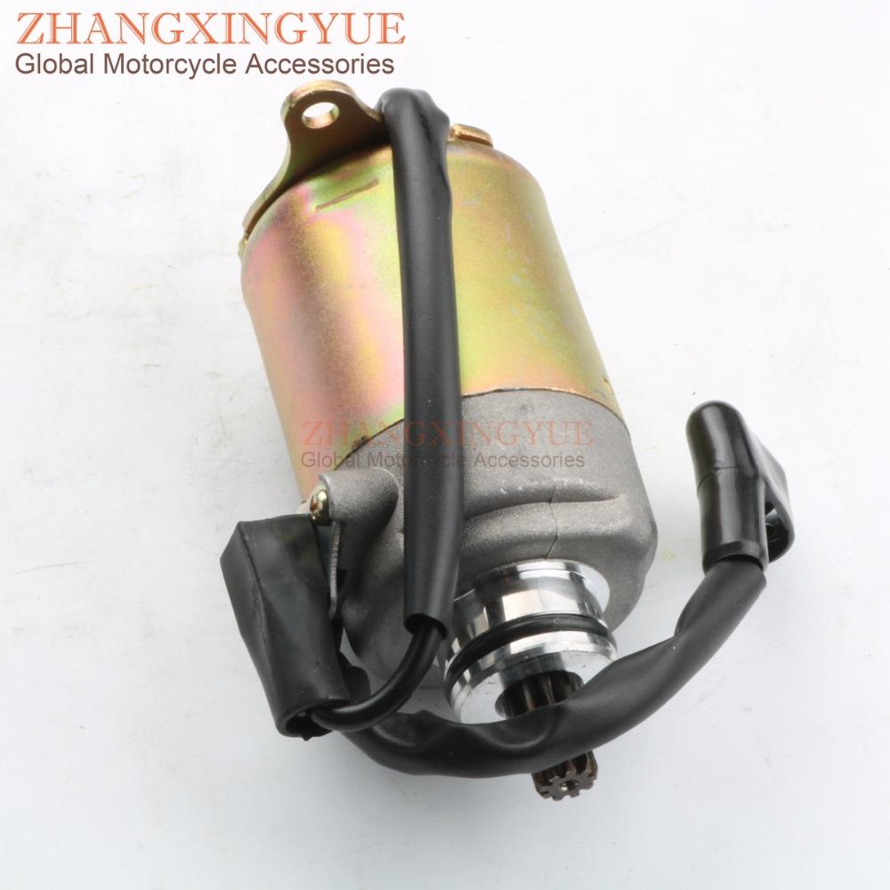 Brosse de carbone pour moteur de démarreur pour Kawasaki GPZ 500 S