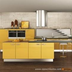Best Rta Kitchen Cabinets Victorian 马来西亚项目现代漆黄色厨柜 Buy 黄色厨柜 漆黄色厨柜 现代黄色厨柜
