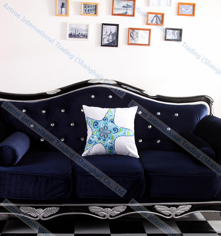 ricamato stella marina cuscino economici cuscini
