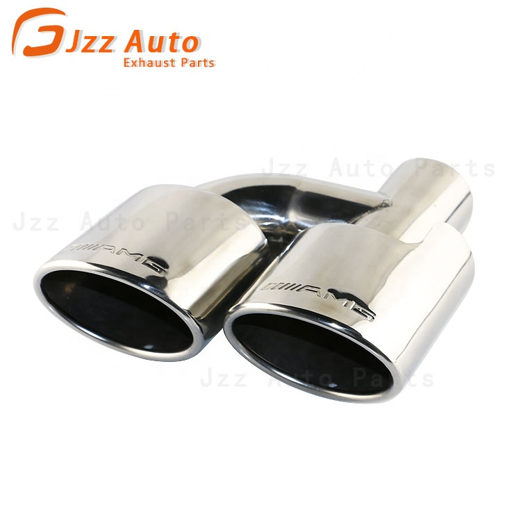 exhaust pipes tips automotive oval