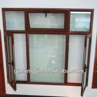 Wooden Color Aluminum Window Frames Designs - Buy Wooden ...