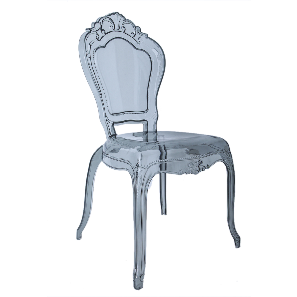 transparent polycarbonate chairs hourglass dining chair leisure bella plastic