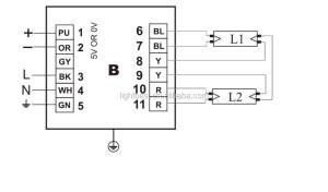Uv Lamp Electronic Ballast Ph28002 75u 110v 230v