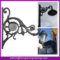 Outdoor Street Light Fixture Mounting Bracket - Buy Light ...