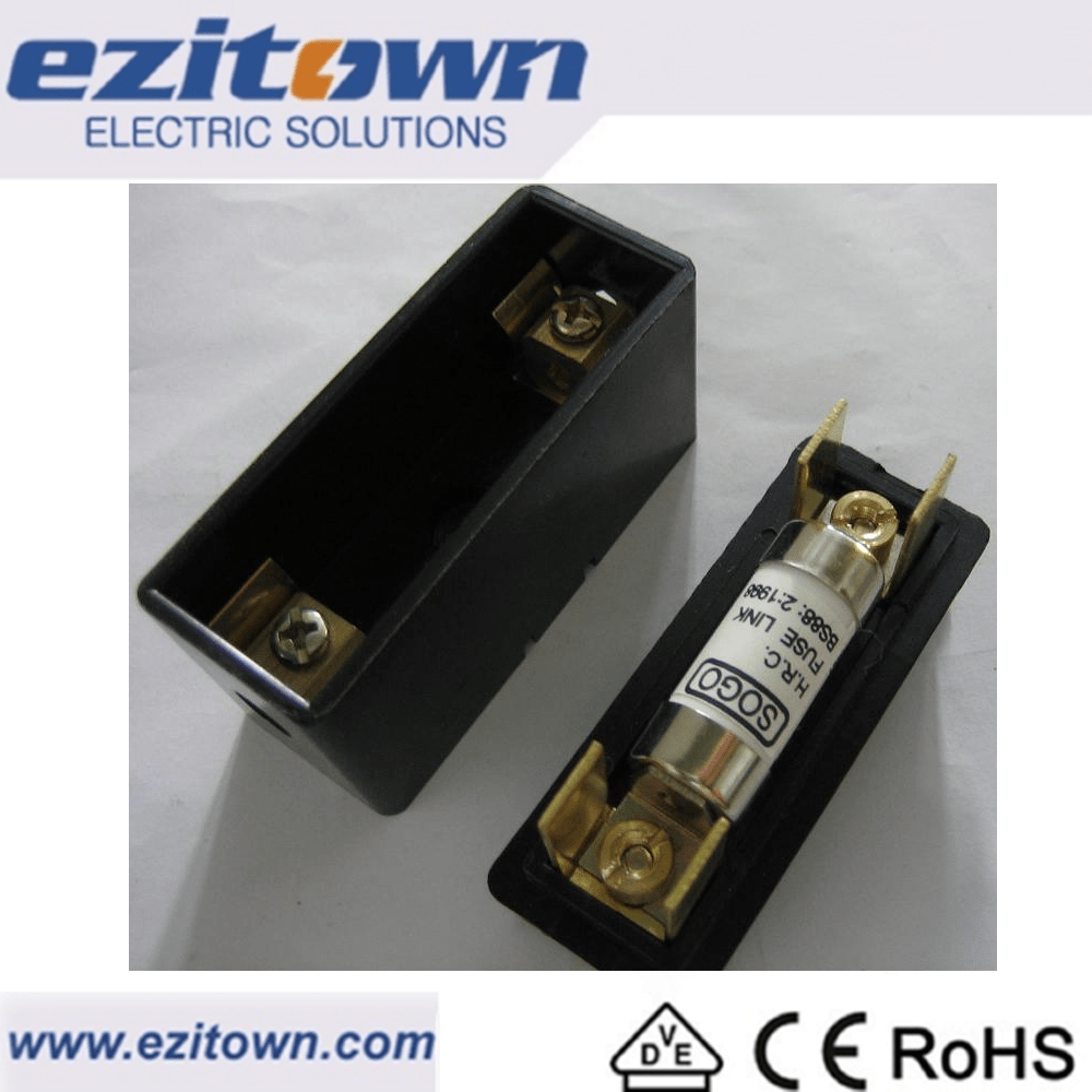 hight resolution of resistor 20a 32a 63a 80a 100a 400v 550v automatic fuse carrier box bolted panel mounting cartridge fuse link hrc