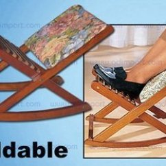 Rocking Chair Footrest Sheepskin Pad Nz Repose Jambes Foldable Foot Rest Buy Quot