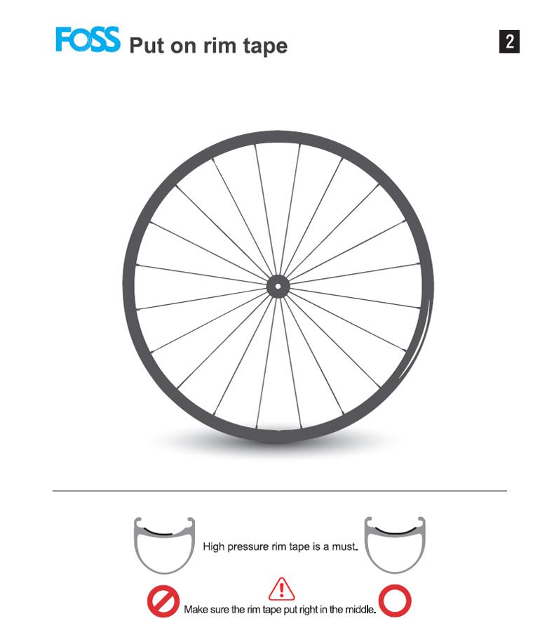 Tubo Interior De Bicicleta Foss,Neumáticos De Bicicleta