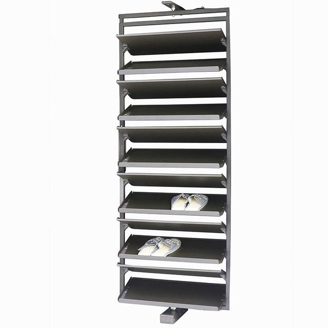 porte chaussures meuble de rangement pivotant a 360 degres 1 piece armoire meuble buy accessoires de meubles etagere a chaussures etagere a