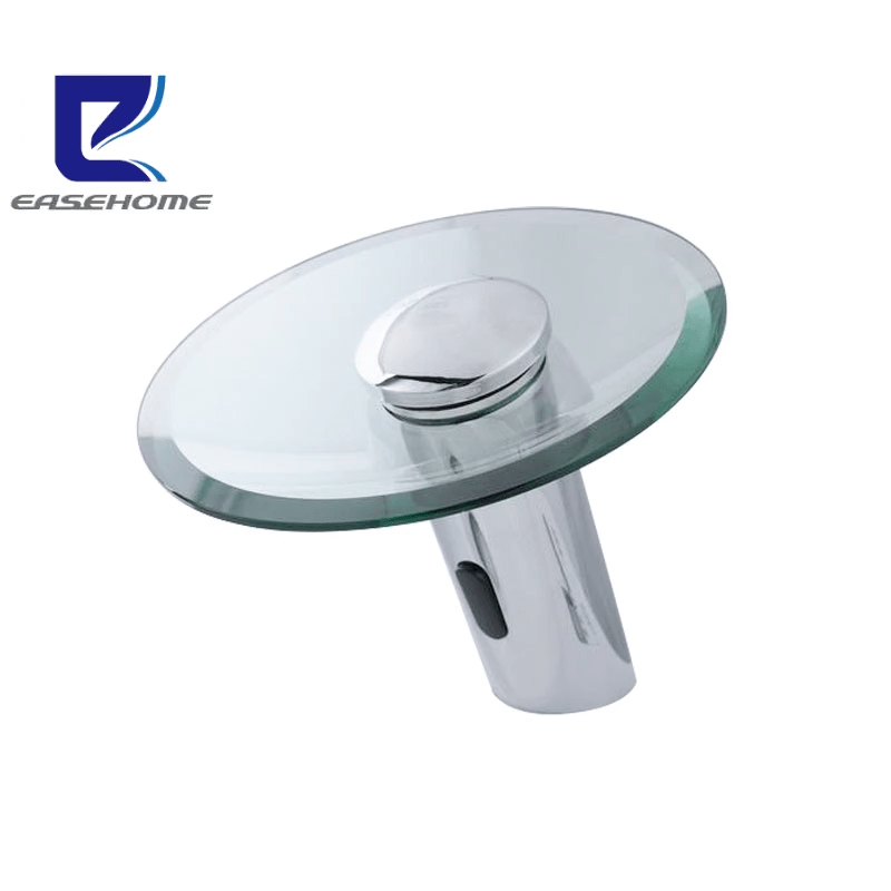 smart touchless auto sensor basin tap automatic bathroom sink waterfall glass faucet buy smart touchless auto sensor basin tap automatic bathroom