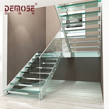 Interior Double Stringer Glass Tread Stairs Staircase For Marble   Outdoor Spiral Staircase Lowes   Treads Spiral   Wood Treads   Arke Eureka   Glass Railings   Slip Stair