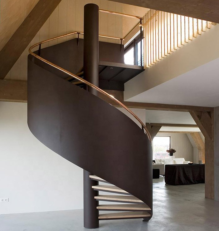 Duplex House Spiral Stairs Steel Steps Spiral Staircase Buy   Duplex House Interior Steps   Glass   Small Space   Inside   Bedroom   Wooden