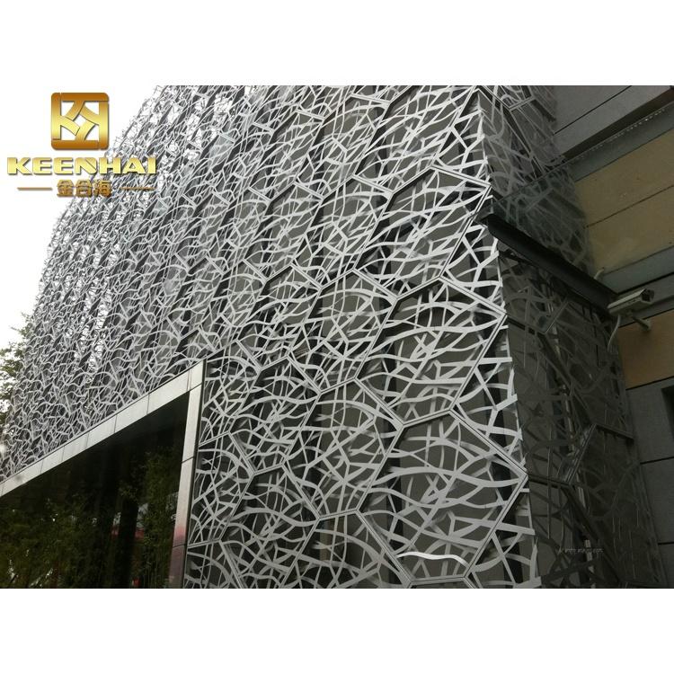 aluminium panneau de facade mur rideau